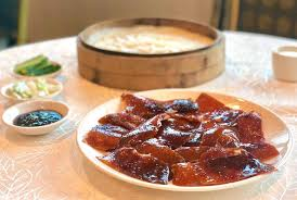 peking duck with crepes